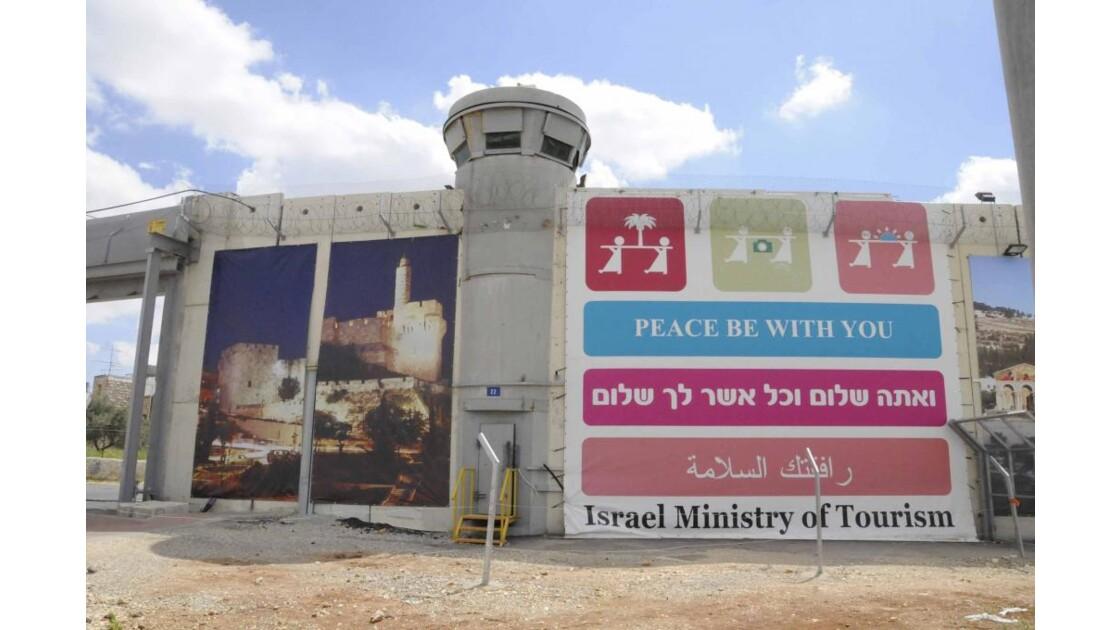 Le mur côté Israël
