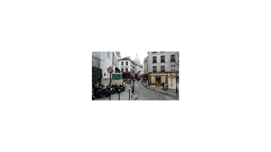 Déambulation sur la Butte Montmartre