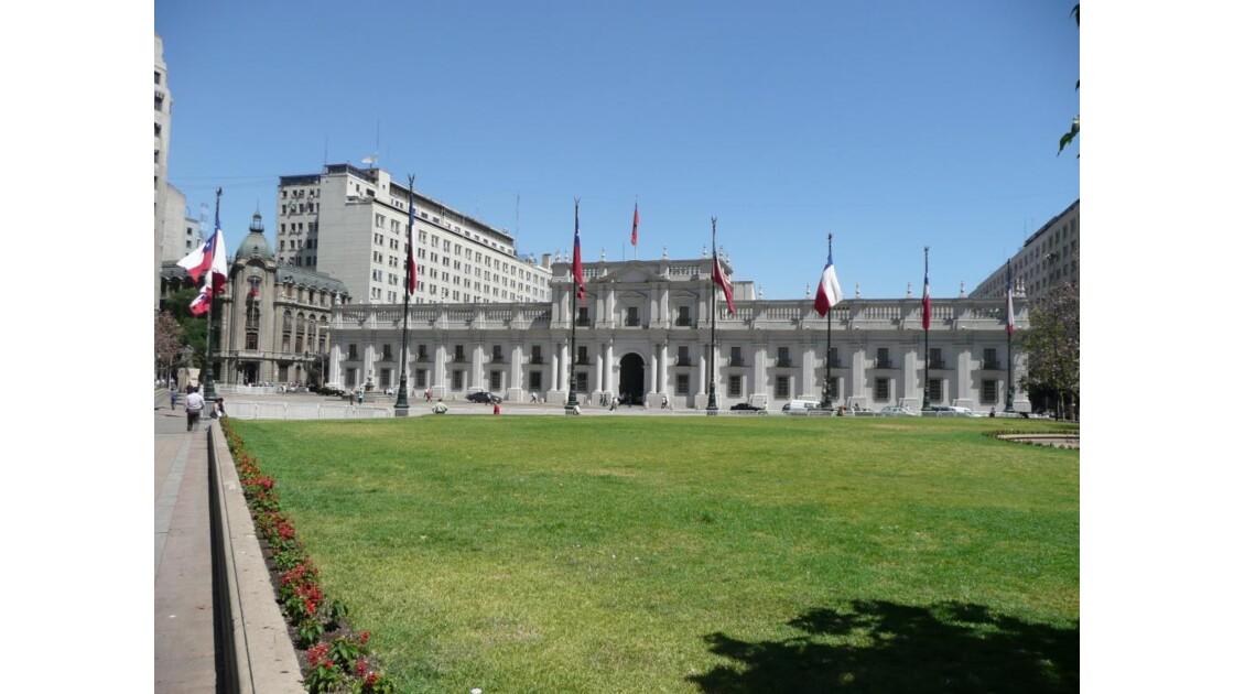 la Monéda Santiago du Chili