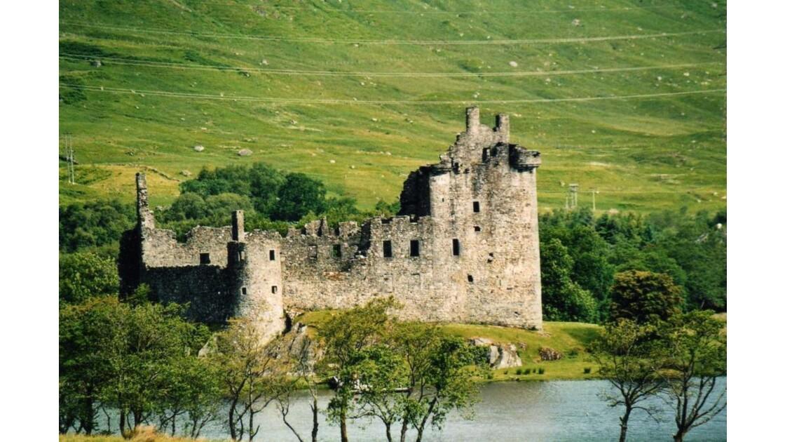Loch Awee, château de Kilchurn