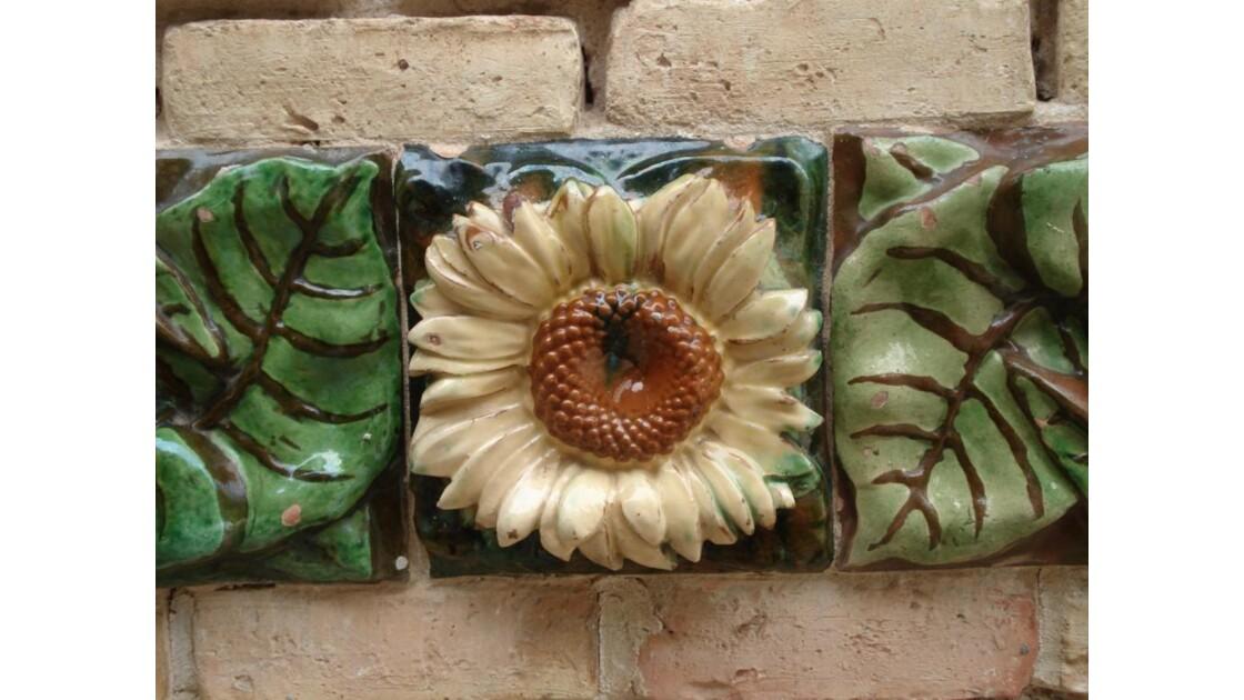 les tournesols de Gaudi