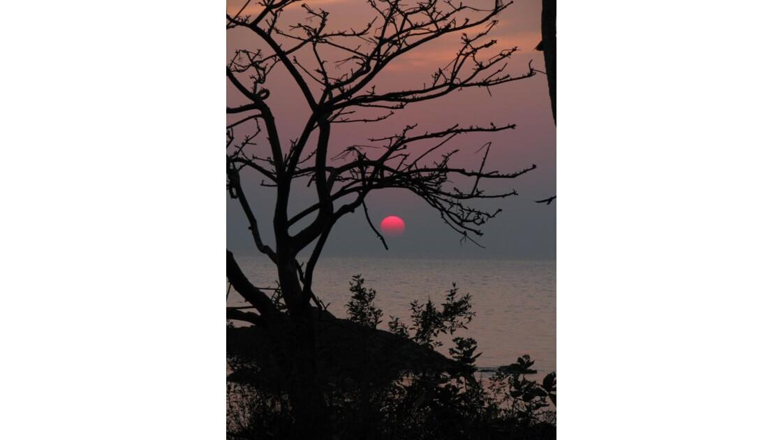 coucher de soleil a goa INDE
