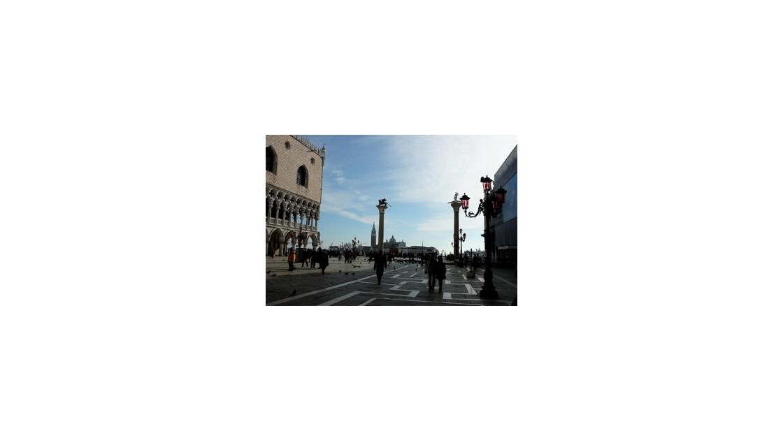 Sur la Piazzetta San-Marco