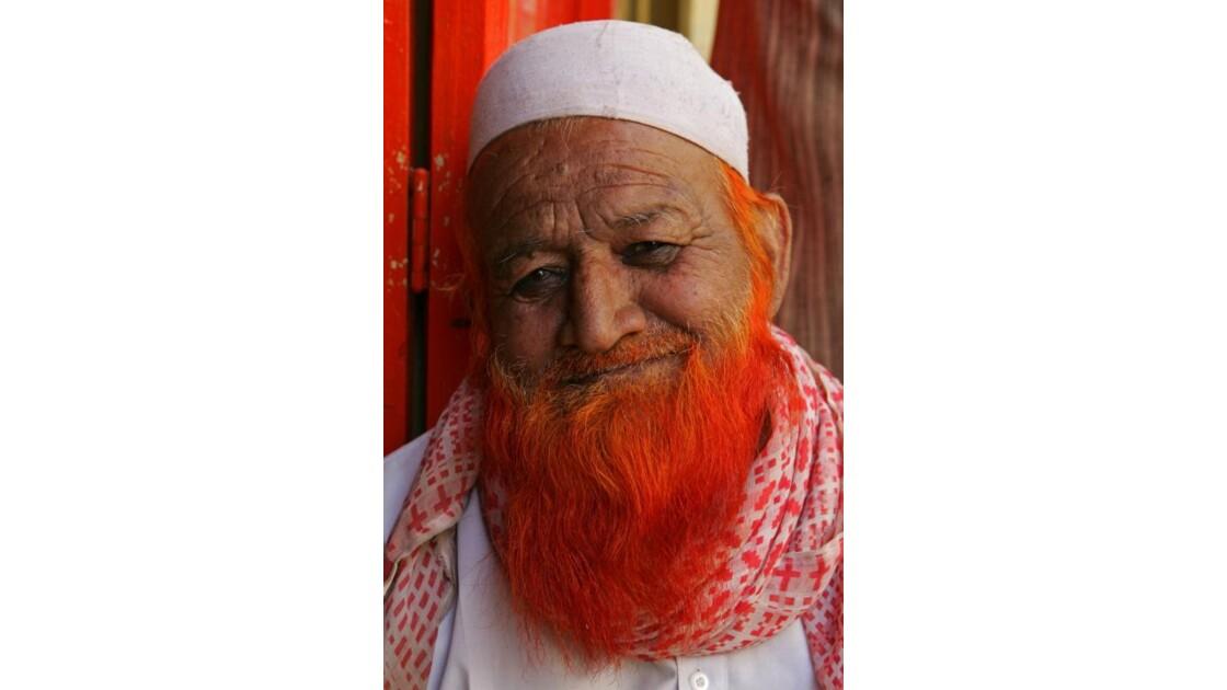 Barberousse à Jaisalmer ( Rajasthan)