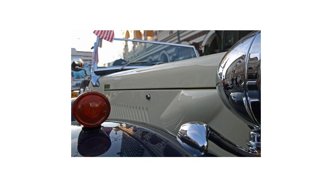 Reflection automobile