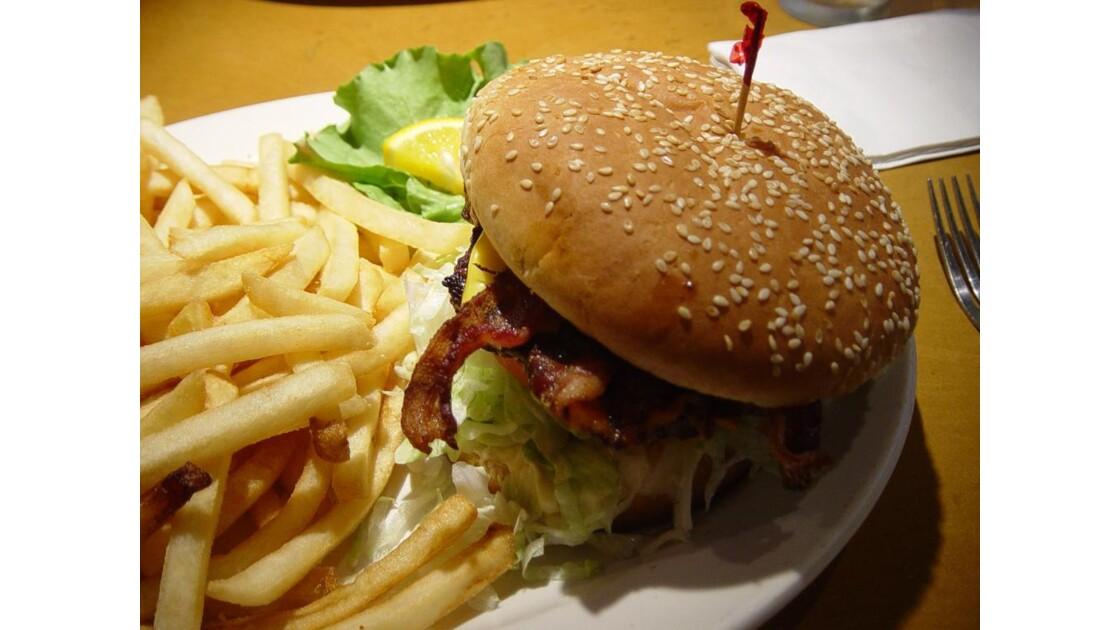 Bacon burger...