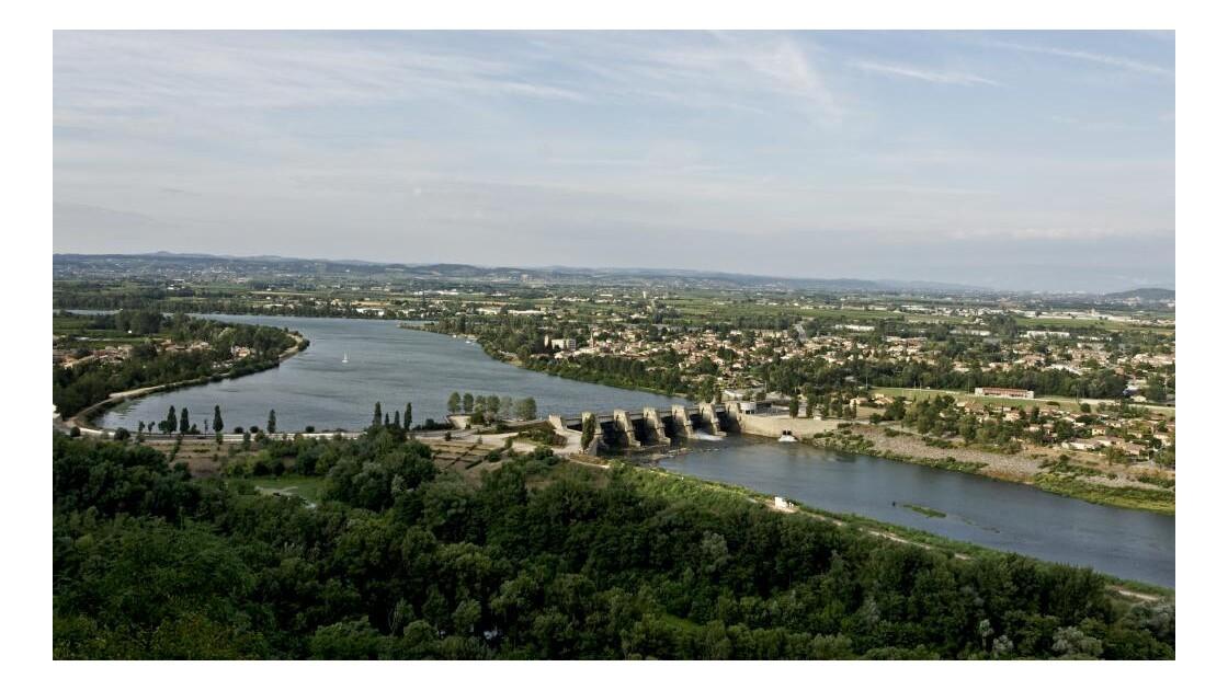 Barrage de Bourg les Valence