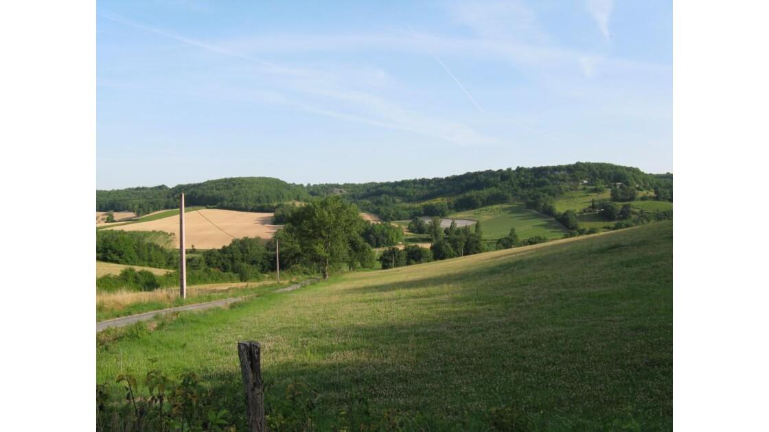 campagne dans le Tarn et Garonne