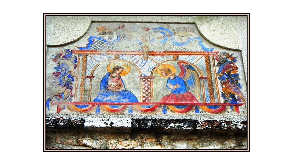 Ancienne fresque murale