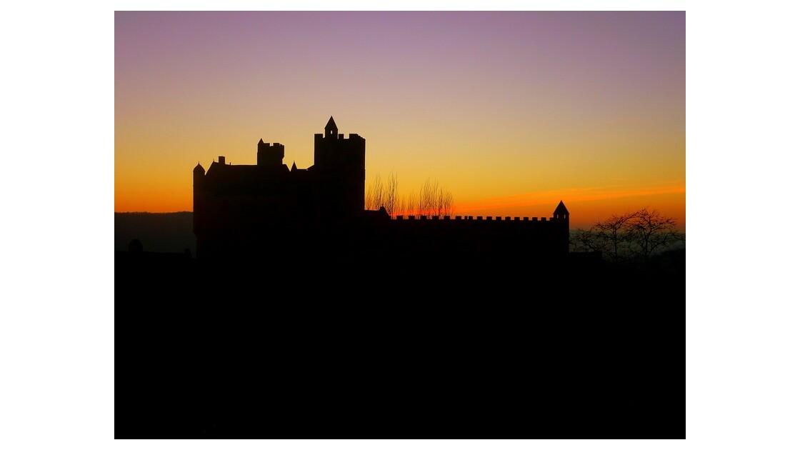 coucher de Soleil sur le Château