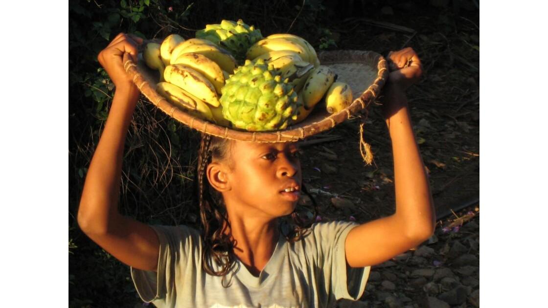 Vendeuse de fruit