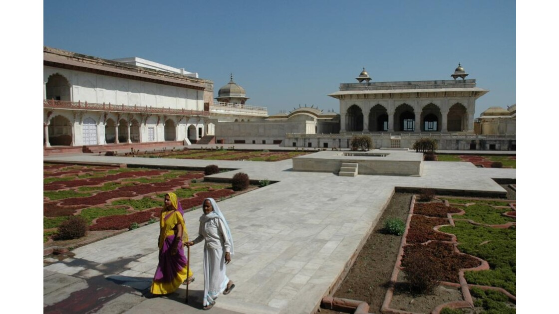 Fort Rouge d'Agra, Khas Mahal