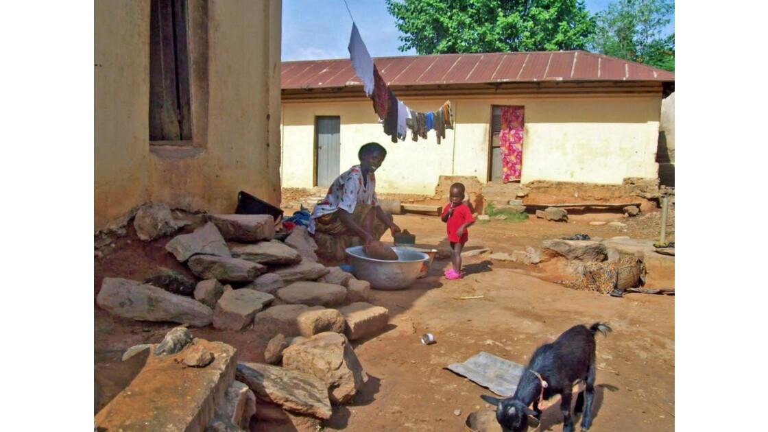 La vie au village de Koutoukpa