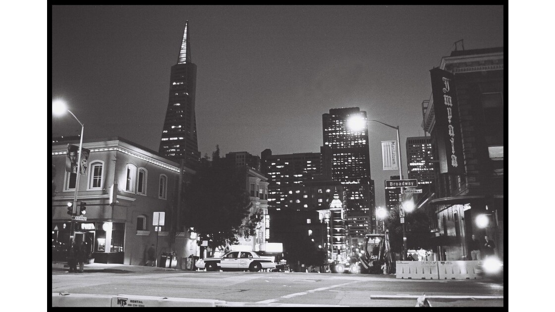 S.F. BY NIGHT