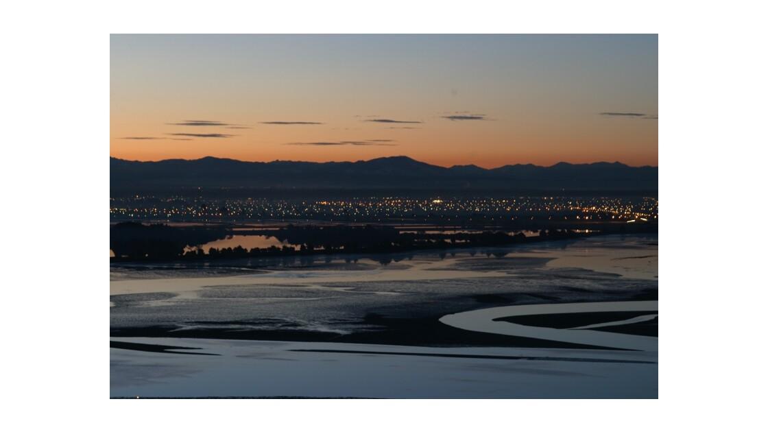 Belle soirée à Christchurch