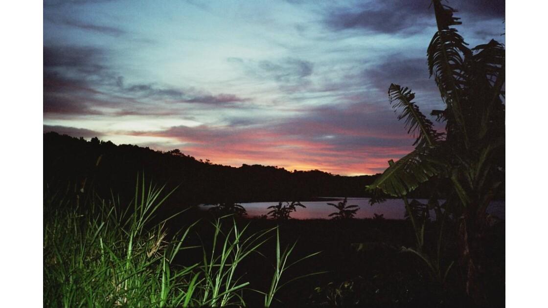 Lac près de Bédugul