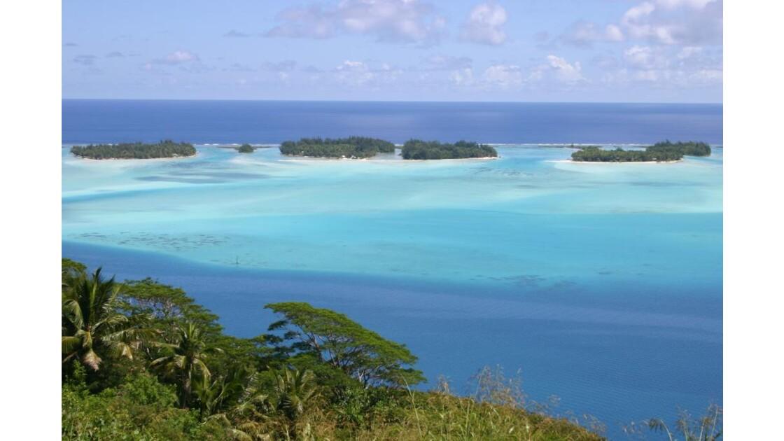 Le lagon de Bora-Bora