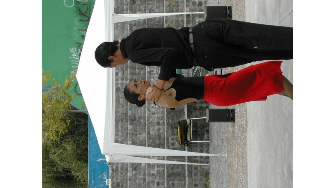 danseur de tango dans le rue