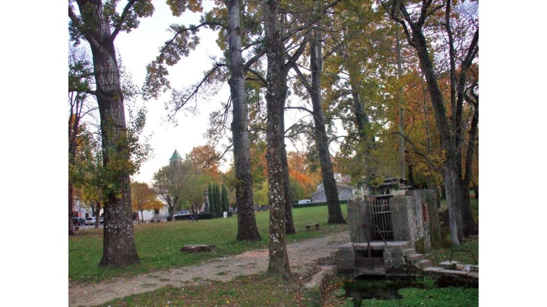 Couleurs d'automne sur Brissac