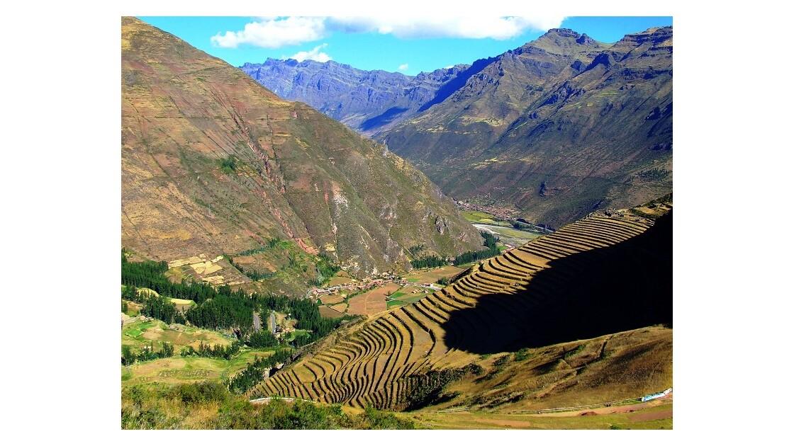 Terrasses incas de Pisac
