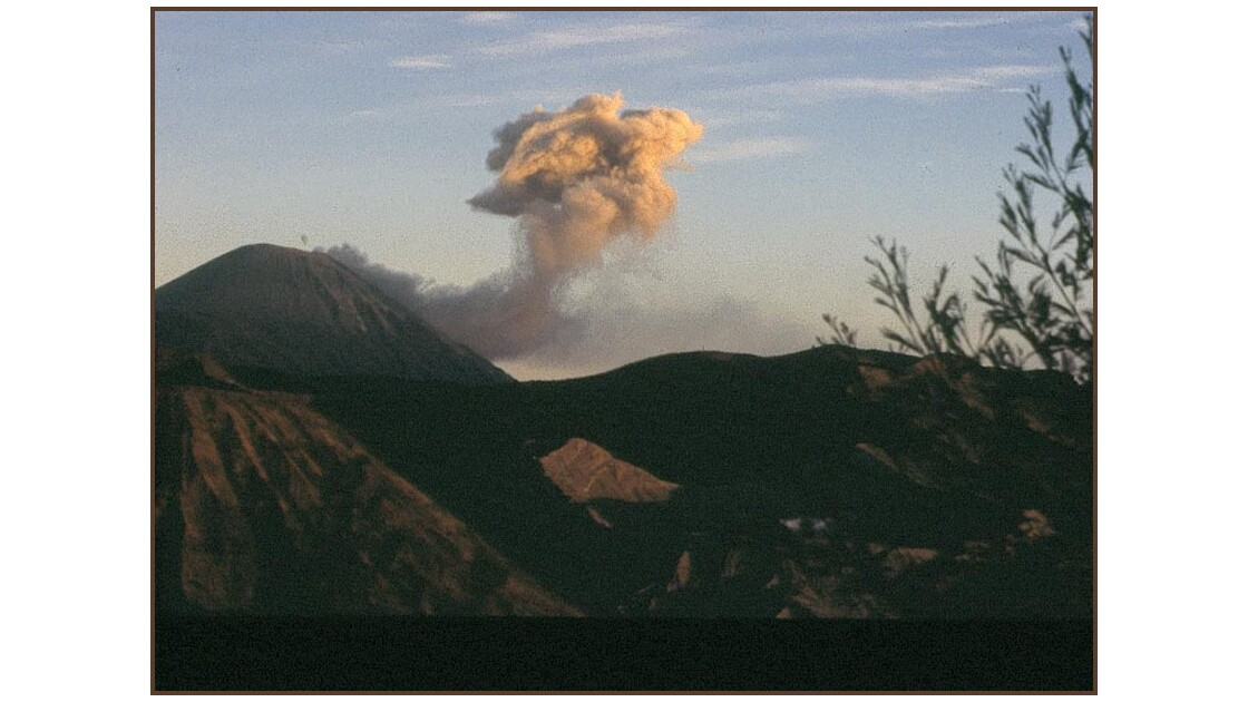 le mont Bromo à Java