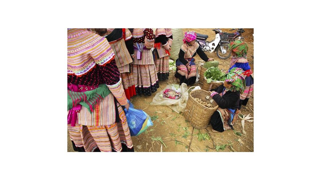 Marché de Can Cau, Vietnam
