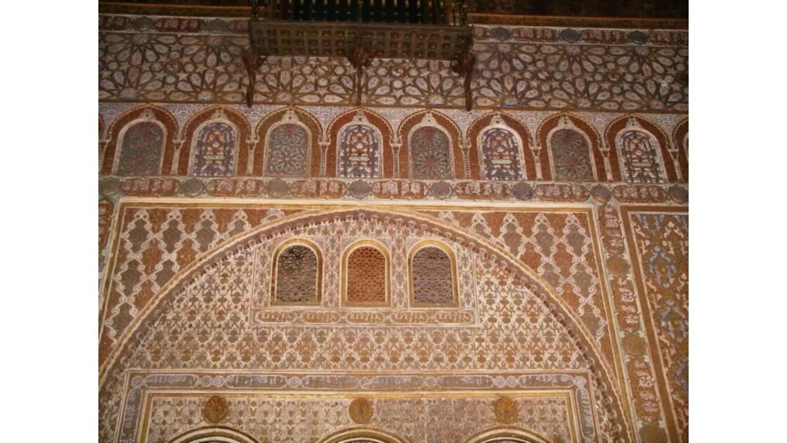 detail d'une façade alcazar