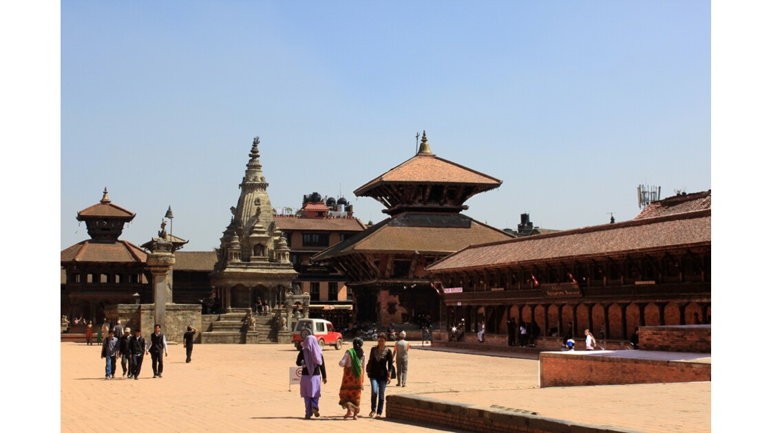 Durbar square de Baktapur 1
