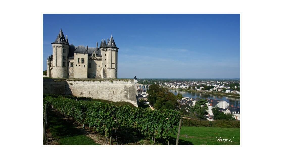 Le château et la ville Saumur