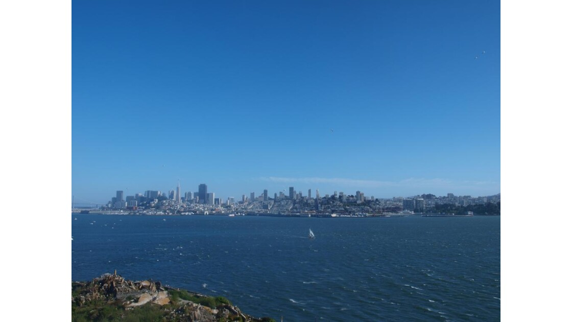 San Francisco vue d'Alcatraz