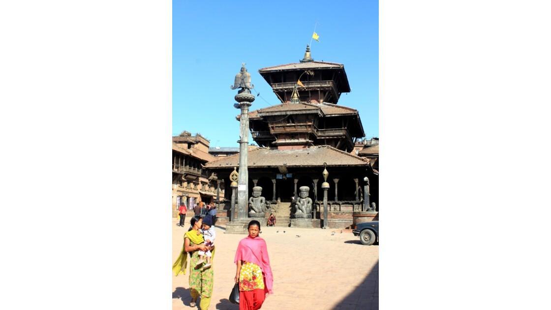 un Temple du Durbar Square