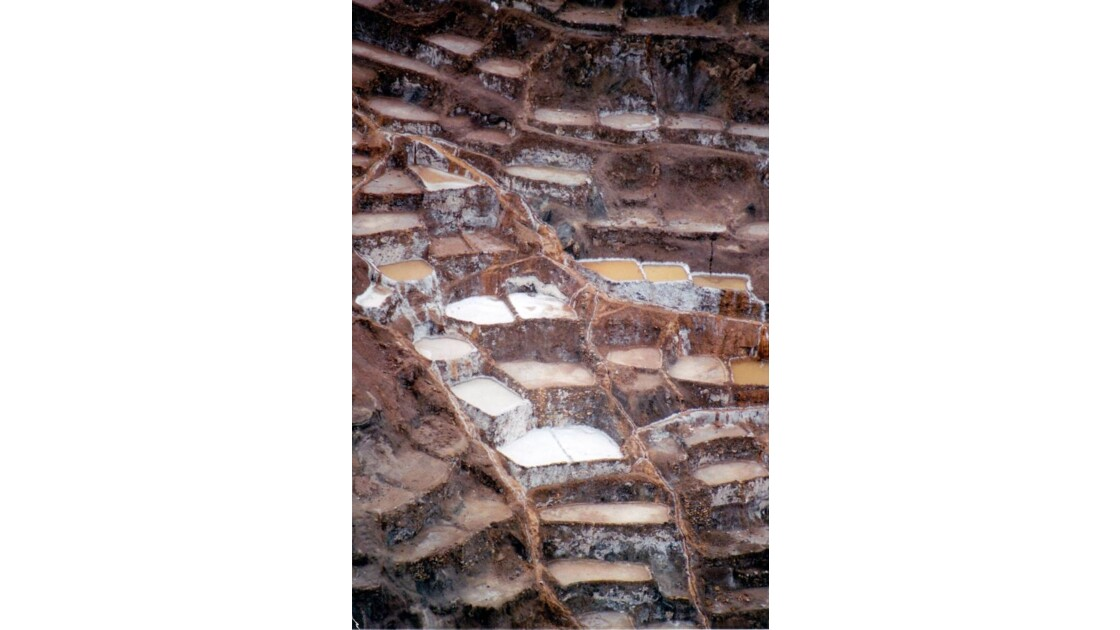 détail des salines de maras