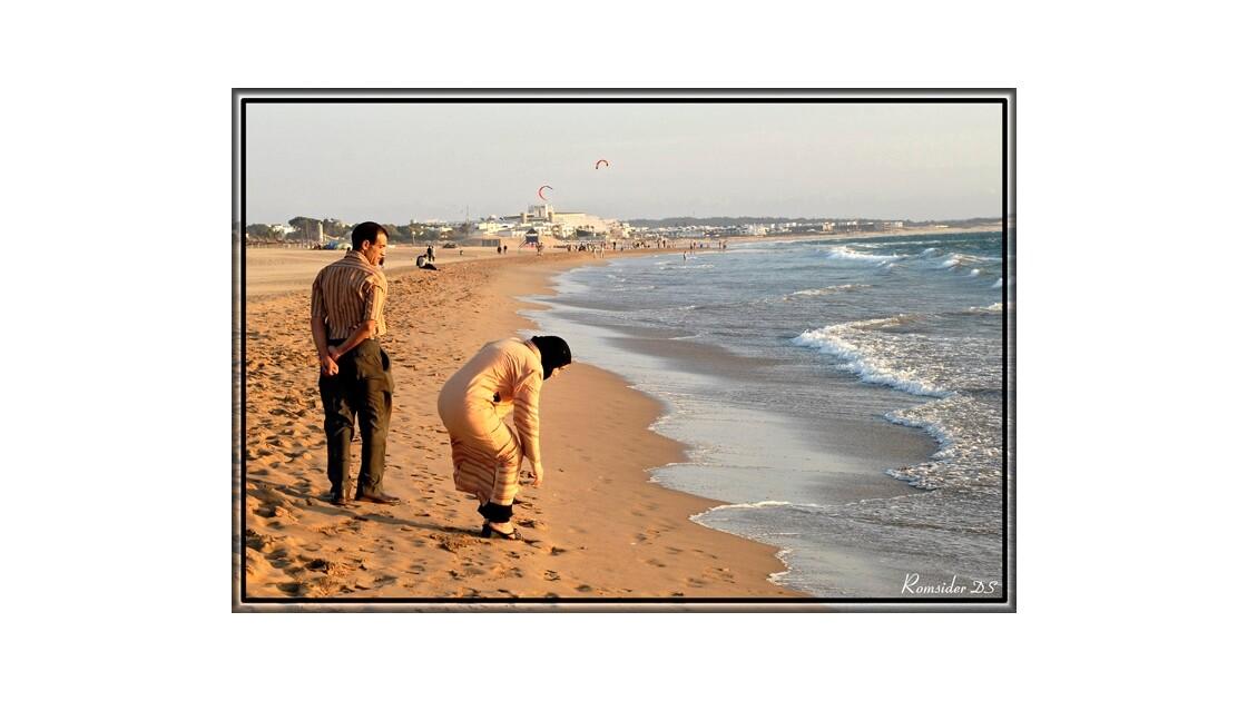 Au bord de la mer, (Agadir,Maroc)