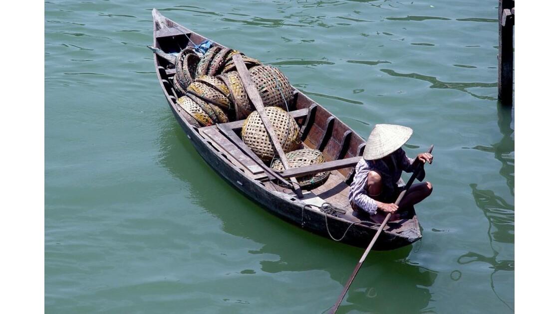 Sur la rivière des parfums Vietnam