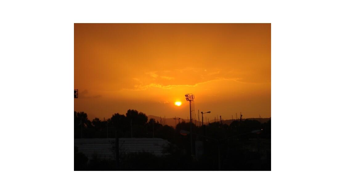 coucher du soleil a douz