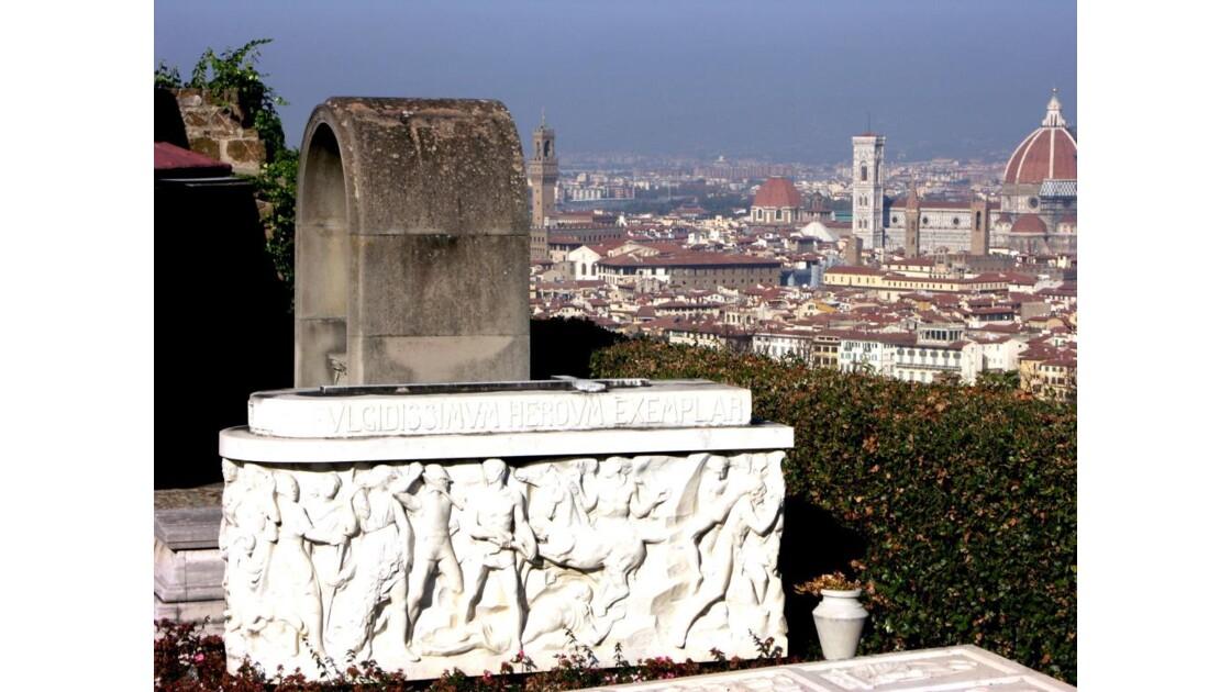 Florence depuis San Miniato al Monte cim