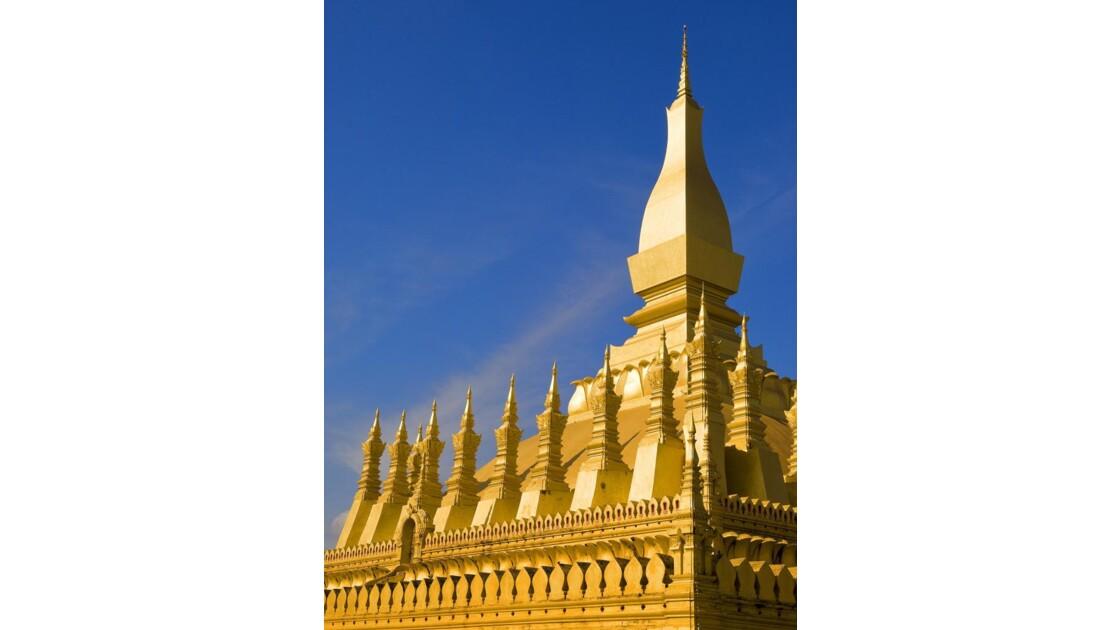 That Luang à Vientiane (LAOS)