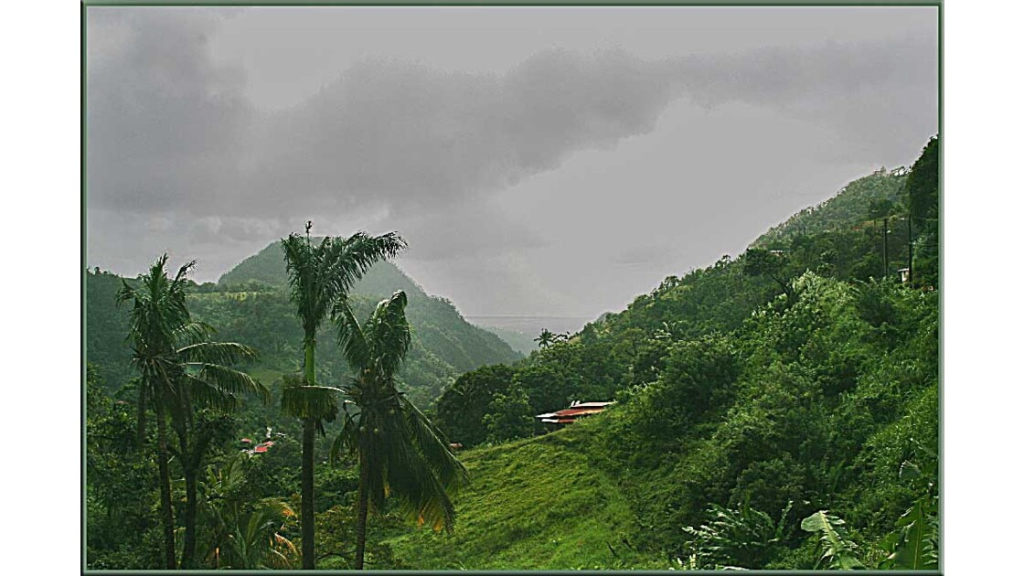 Le nord de la Martinique