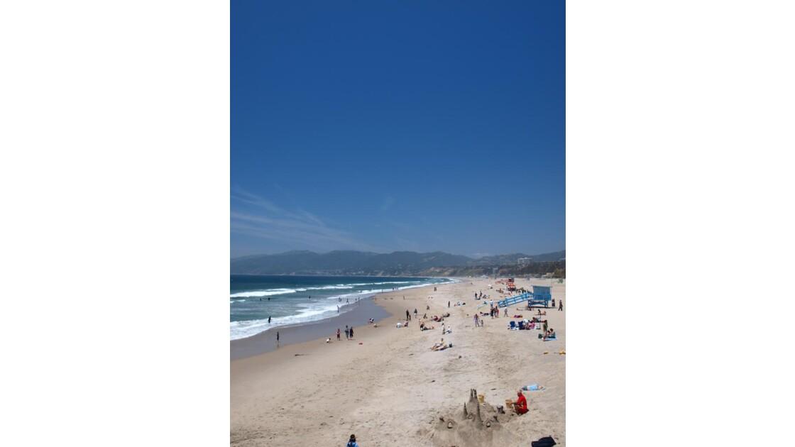 Santa Monica Beach, Californie