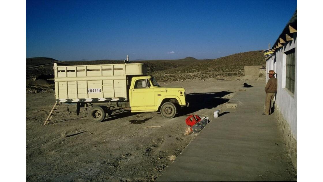 Altiplano péruvien