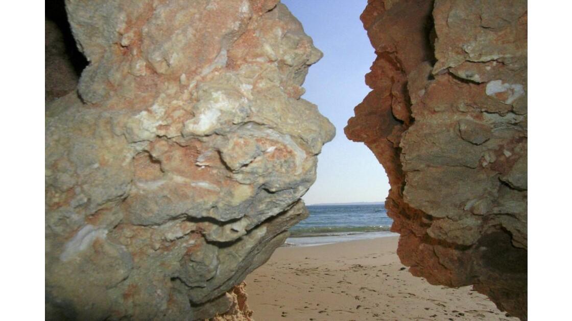 Tête à tête de roches