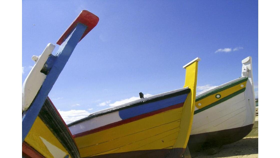 Portugal, proues de barques