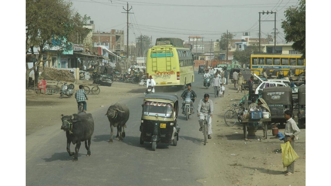 Trajet Agra - Fatehpur Sikri