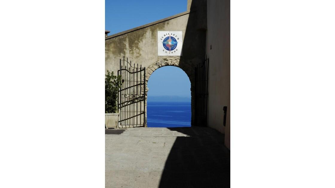 Ouverture sur mer Castelsardo-Sardaigne