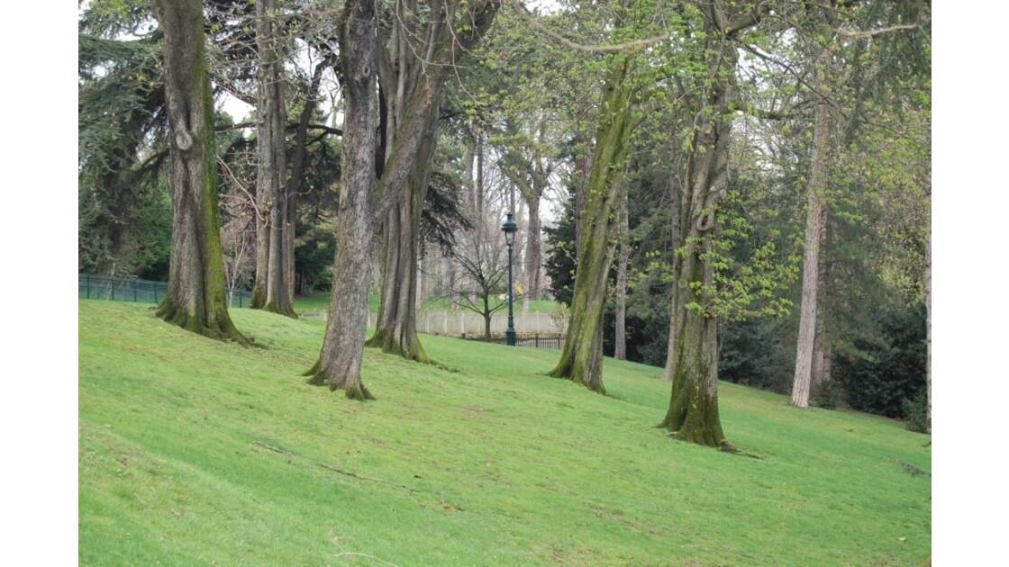 Réverbère du Parc Montsouris