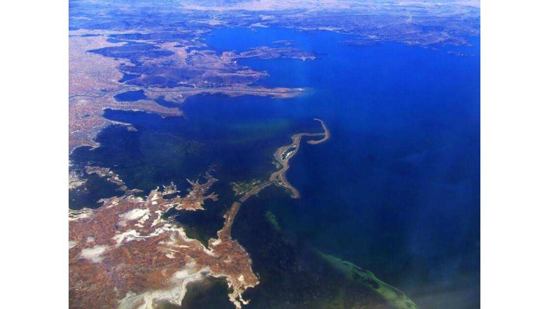 lac Titicaca by plane