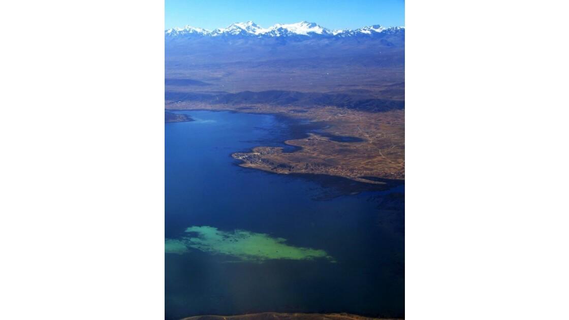 lac Titicaca vu d´avion