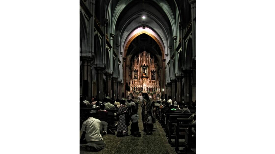 choeur et église pleine