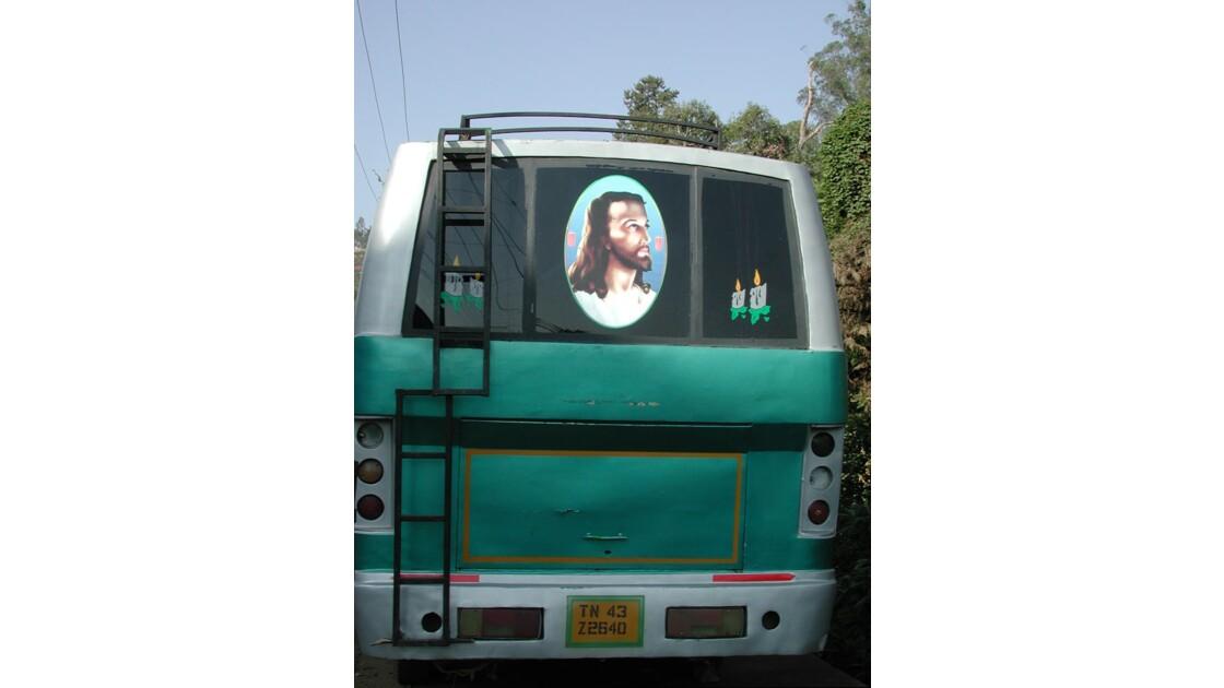 bus décoré