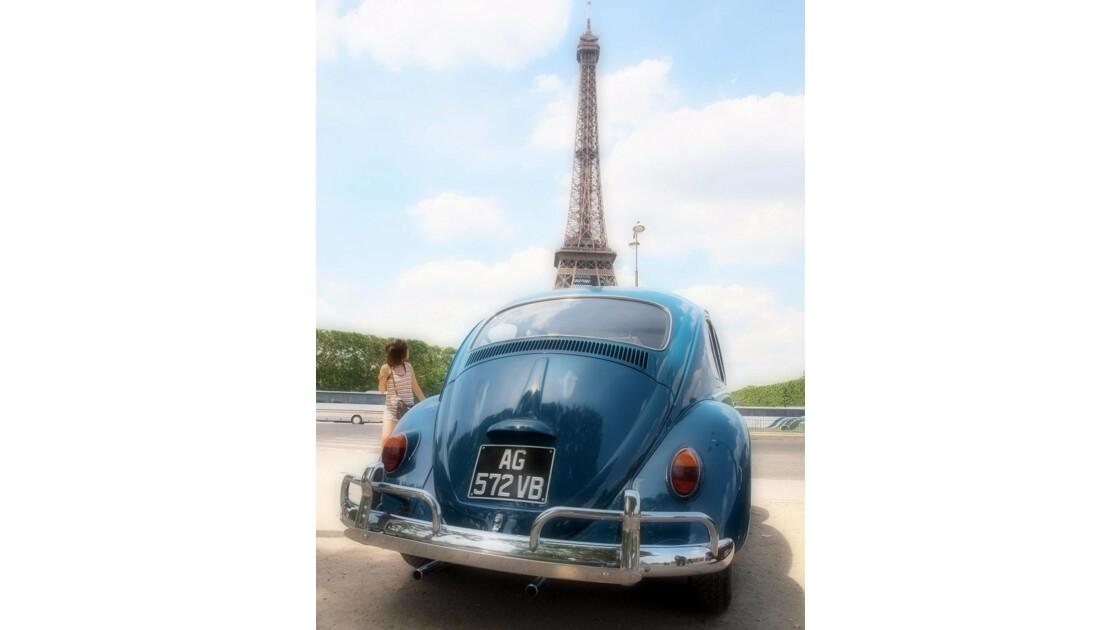 La Cox à la Tour Eiffel